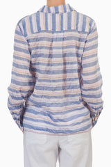 American Colors Havasu Crop Pullover Shirt