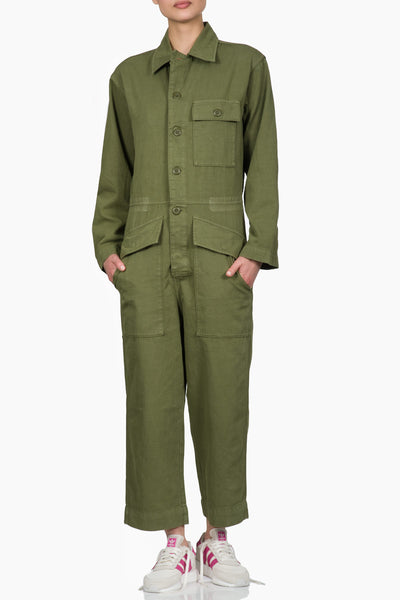 Current/Elliott The Richland Coverall army green