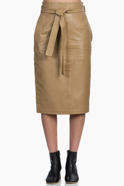 Equipment Alouetta Leather Skirt