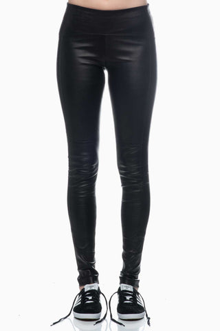 Getting Back To Square One Iconic Leather Legging