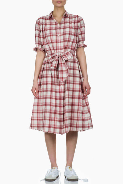 The Great The Scallop Kerchief Dress