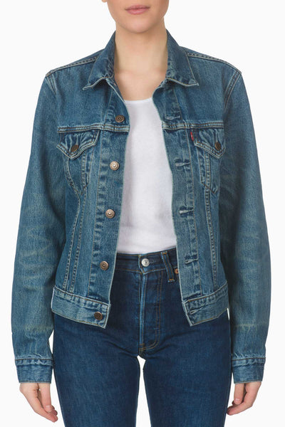 ICONS Denim Trucker Jacket