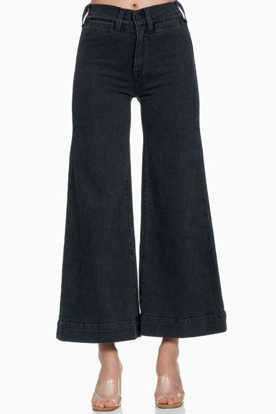 ICONS 70s Wide Bell Crop Jean