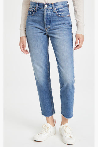 Constance Straight Tapered Jeans