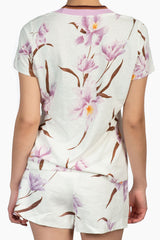 Zimmermann Corsage Tee- Lilac Orchid