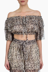 Zimmermann Prima Cherry Crop Top