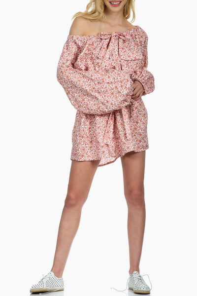 Zimmermann Radiate Skater Shirt Dress