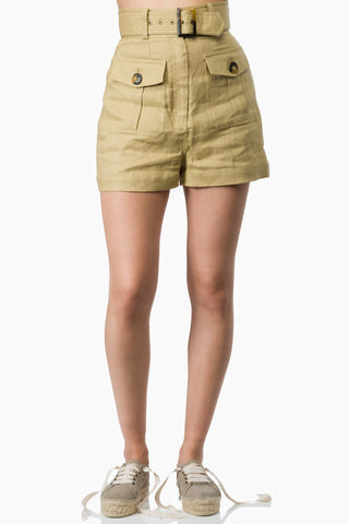 Zimmermann Suraya Safari Shorts