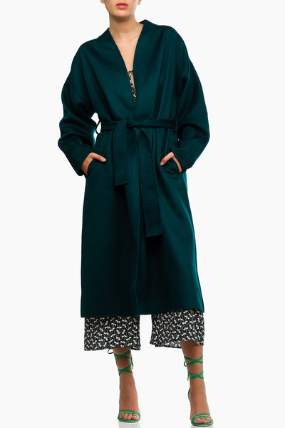 Zimmermann Unbridled Wrap Coat