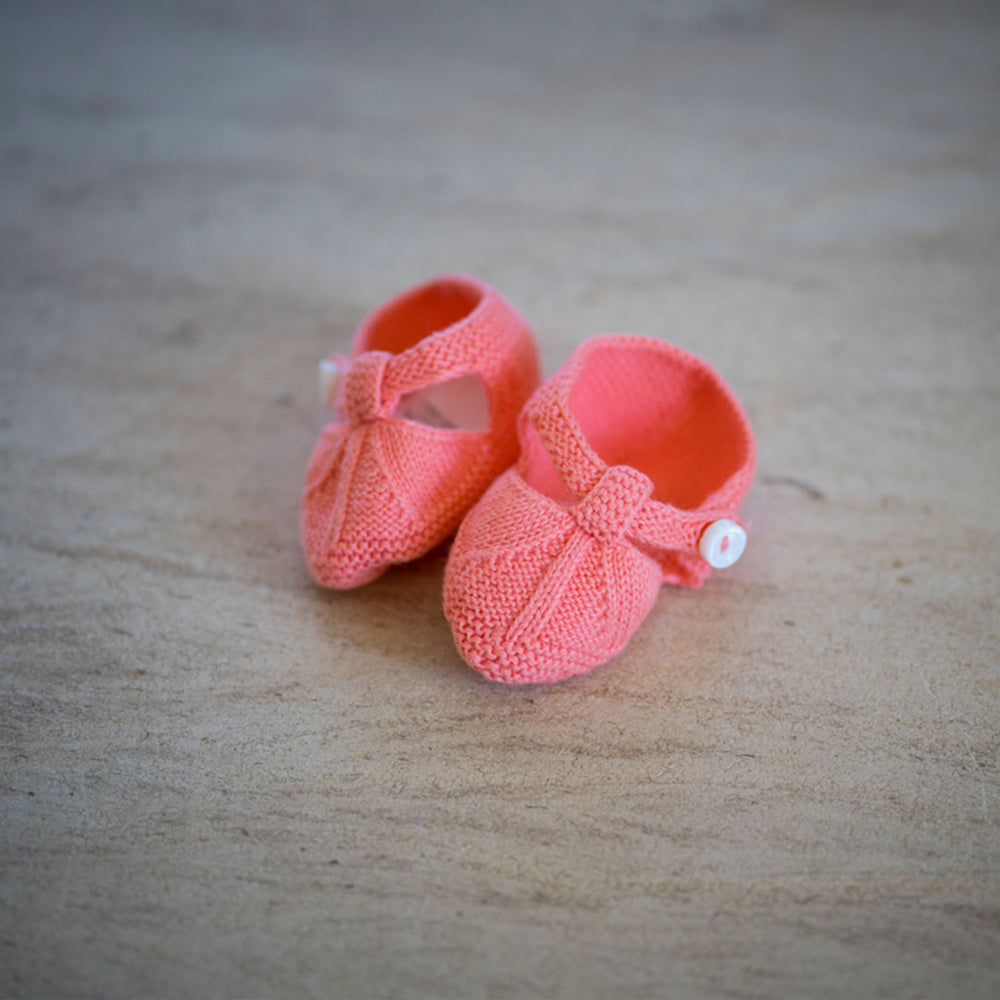 Coral Baby Bootes