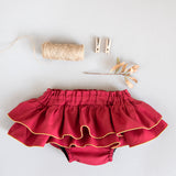 Special Christmas Ruffled Skirt
