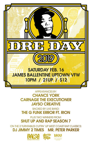 Dre Day 2019