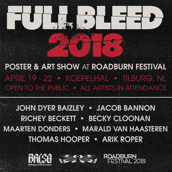 After A Huge Inaugural Event During 2017s Roadburn Festival Were Returning To Tilburg The Netherlands For Another Big Weekend Sharing New Prints And