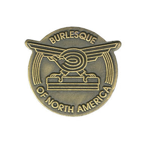 Burlesque Logo Lapel Pin