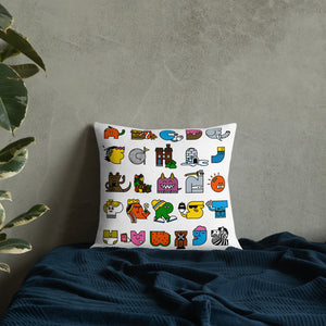 Alphabet Pillow