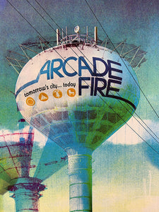Wes Winship: Arcade Fire / St. Paul 2010 (Printer's Proof)
