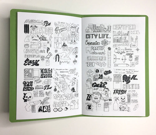 Mike Davis: Collected Sketches zine