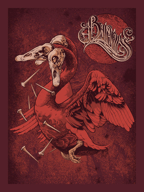 Baroness Black Swan tour poster
