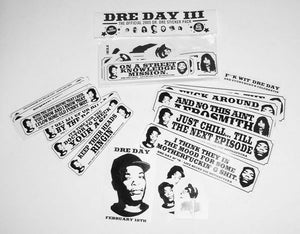 Dr. Dre Sticker Pack 2005