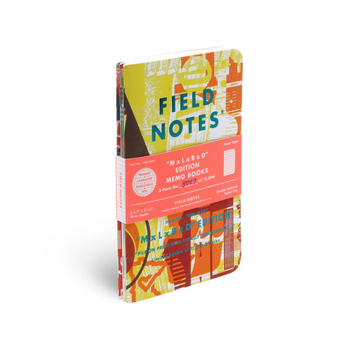 Field Notes M x L x B x D edition 3-Pack