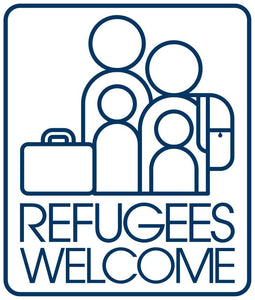 Refugees Welcome Sticker Set