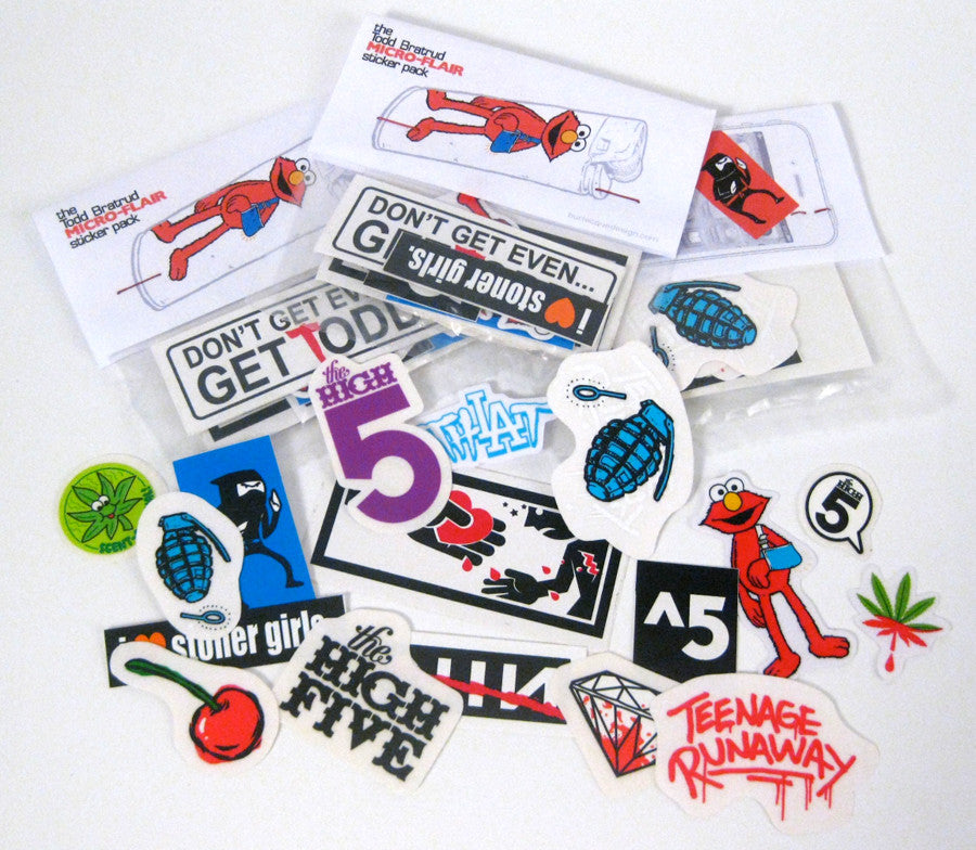 Todd Bratrud Micro-Flair Sticker Pack