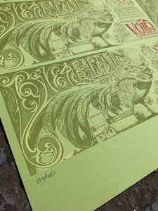 Aaron Horkey: Big Brain Comics Gift Certificate Sheet (RAER)