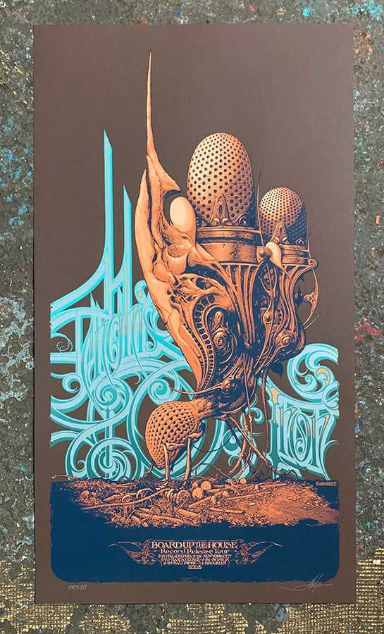 Aaron Horkey: Genghis Tron (RAER - Printer's Proof)