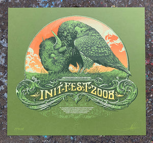 Aaron Horkey: InitFest 2008 Printer's Proof (RAER)