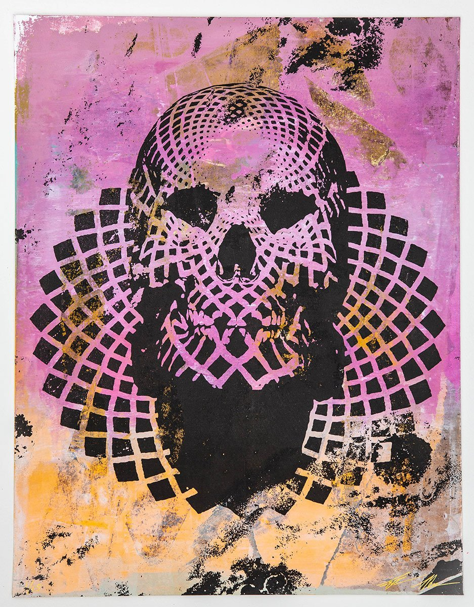 Jacob Bannon x Thomas Hooper: JBXTH I Monoprint #01
