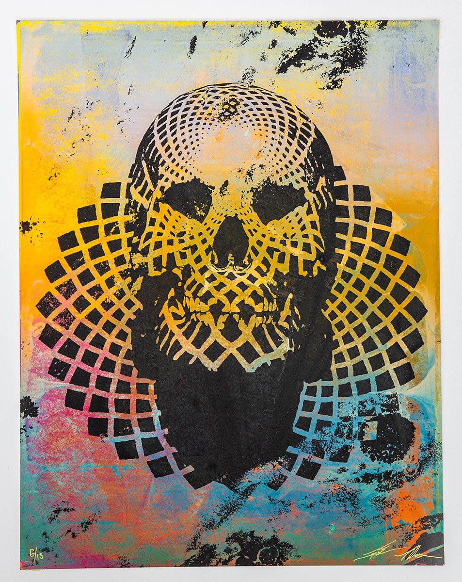 Jacob Bannon x Thomas Hooper: JBXTH I Monoprint #05