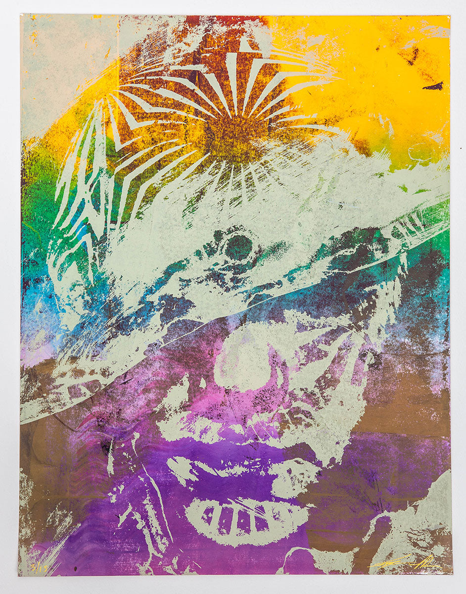 Jacob Bannon x Thomas Hooper: JBXTH II Monoprint #13