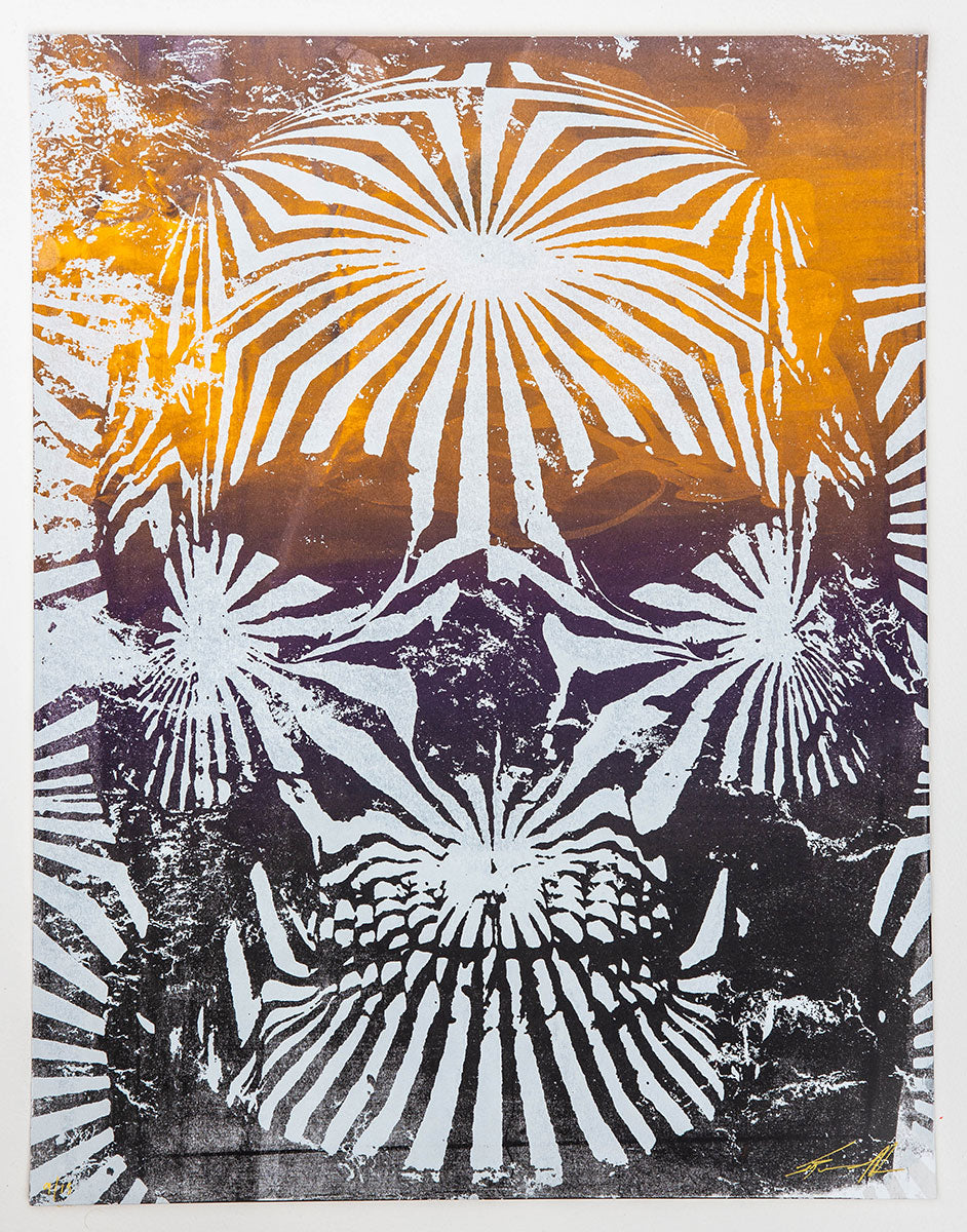 Jacob Bannon x Thomas Hooper: JBXTH III Monoprint #09