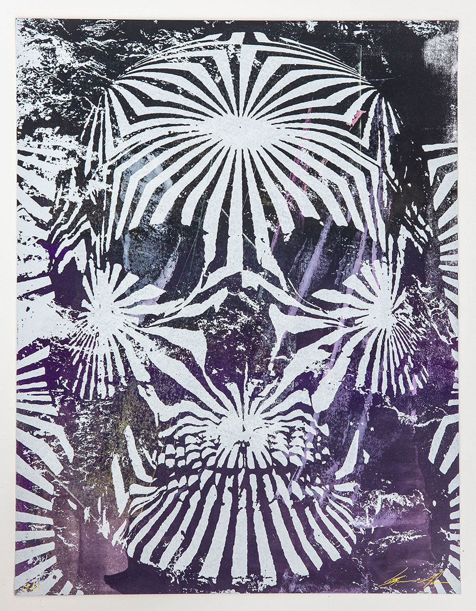 Jacob Bannon x Thomas Hooper: JBXTH III Monoprint #14
