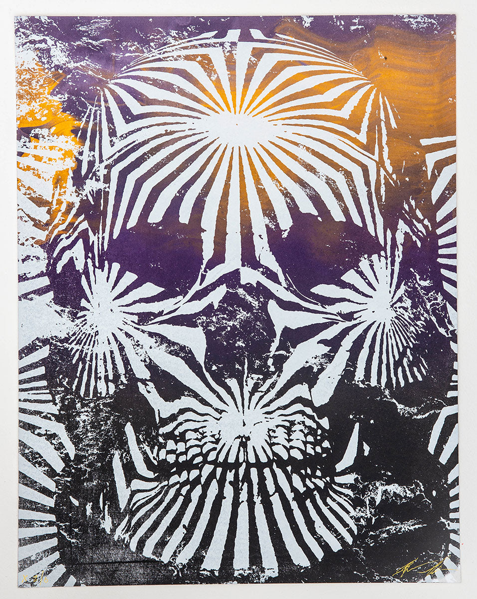 Jacob Bannon x Thomas Hooper: JBXTH III Monoprint #X2