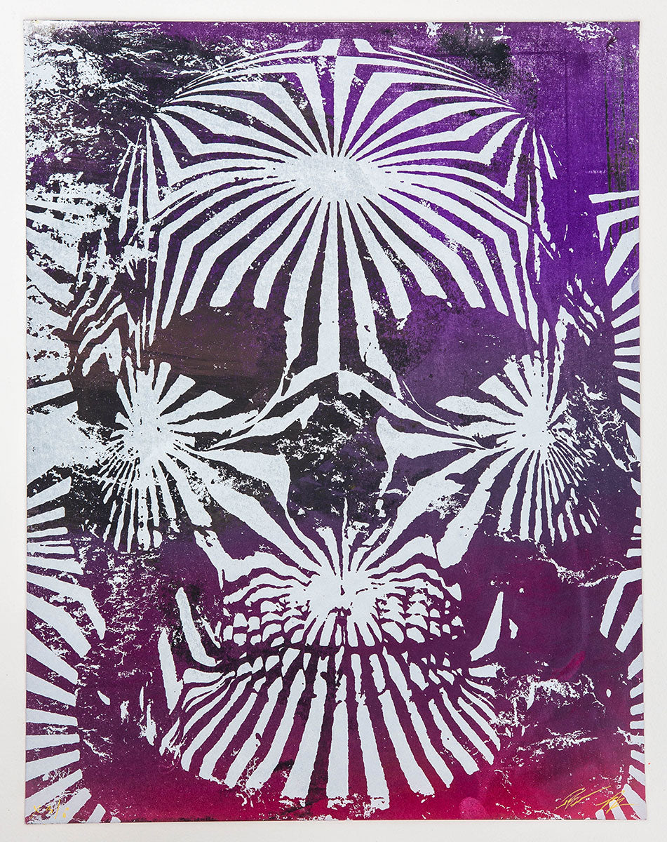 Jacob Bannon x Thomas Hooper: JBXTH III Monoprint #X3