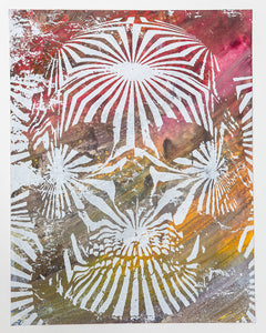 Jacob Bannon x Thomas Hooper: JBXTH III Monoprint #X6