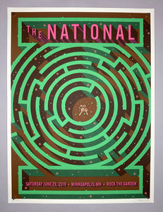 Mike Davis: The National / Rock The Garden (RAER)