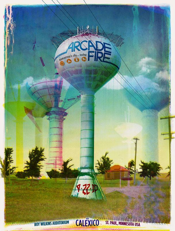 Arcade Fire: Saint Paul, 2010