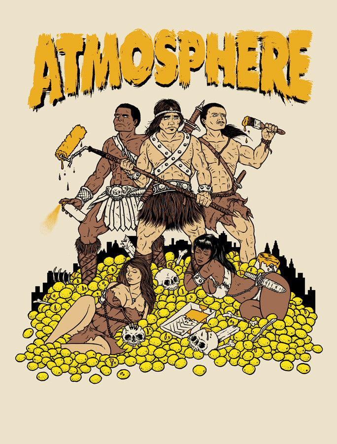 Atmosphere Paint The Nation Gold Tour print