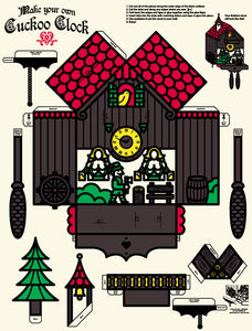 Make Your Own Cuckoo Clock print