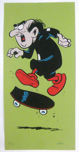 TODDITIES: Gargamel Sour Apple variant print