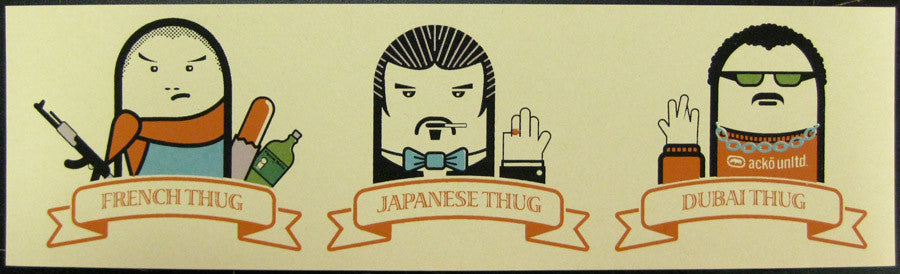 International Thugs Mini-print