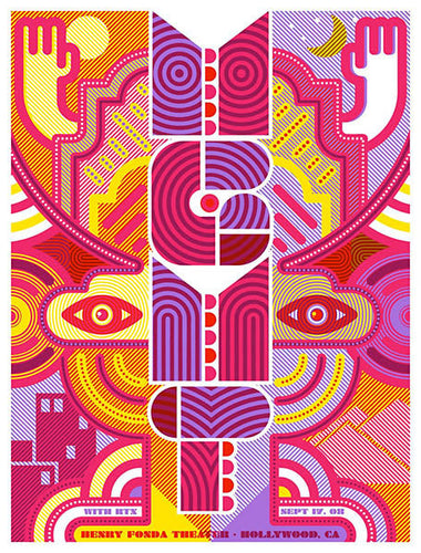 MGMT Los Angeles print