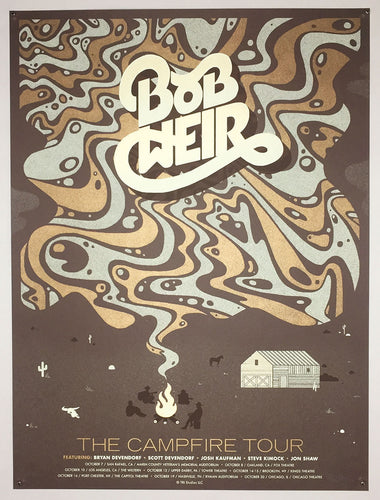 Bob Weir: The Campfire Tour poster