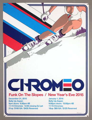Chromeo: Funk On The Slopes