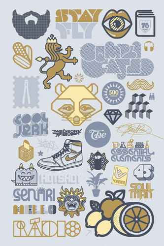 Mike Davis Logo Anthology Miniprint