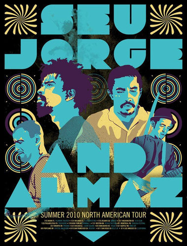 Seu Jorge & Almaz: North American tour