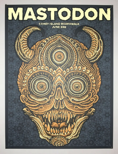 Thomas Hooper: Mastodon at Coney Island - BRLSQ variant