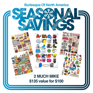 Seasonal Savings: 2 Much Mike Pack